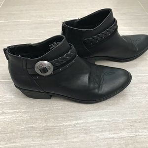 Shoes - dv by Target Black Ankle Booties